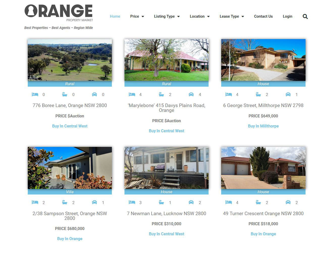 Real-Estate-Web-Site-Design